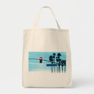 Pacific Coast Highway Sign California Beach Sky Tote Bag