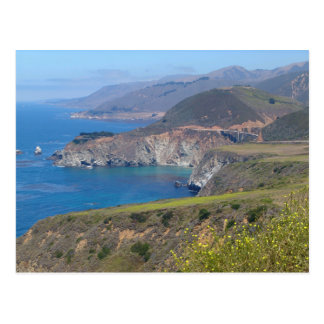 Pacific Coast, Hurricane Point Postcard