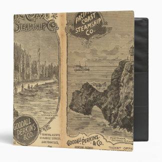 Pacific Coast Steamship Company 2 Binder