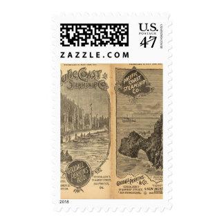 Pacific Coast Steamship Company 2 Postage