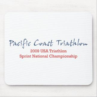 Pacific Coast Triathlon Mouse Pad
