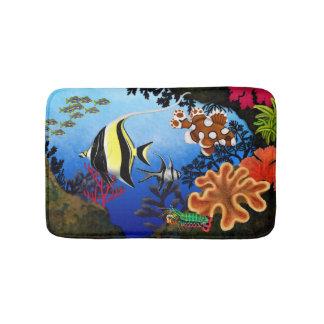 Pacific Coral Reef Bath Mat Bath Mats