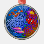 Pacific Coral Reef Fish Ornament