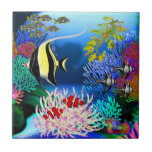 Pacific Coral Reef Fish Tile
