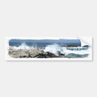 Pacific Crashing In; Customizable Bumper Stickers