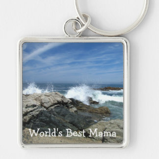 Pacific Crashing In; Happy Mother's Day Keychain