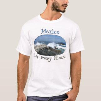 Pacific Crashing In; Mexico Souvenir T-Shirt