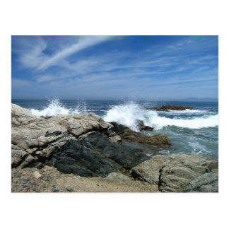 Pacific Crashing In Postcard