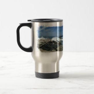 Pacific Crashing In Travel Mug