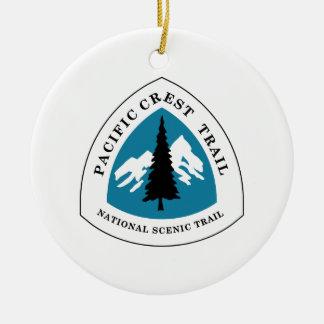 Pacific Crest Trail Ceramic Ornament