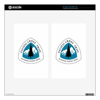 Pacific Crest Trail Kindle Fire Decals