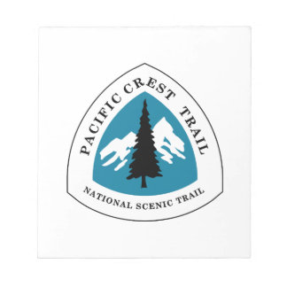 Pacific Crest Trail Notepad