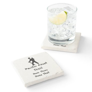 Bootiepoos Pacific Crest Trail Stone Coaster