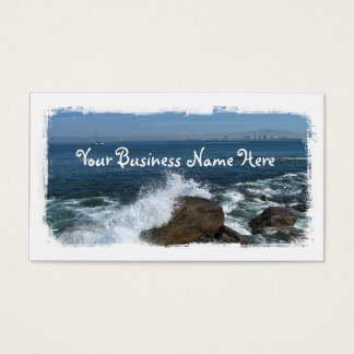 Pacific Froth Business Card