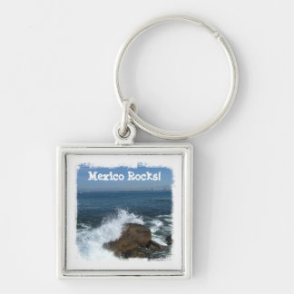 Pacific Froth; Mexico Souvenir Keychain