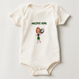 PACIFIC GIRL BABY BODYSUIT