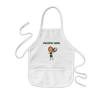 PACIFIC GIRL KIDS' APRON