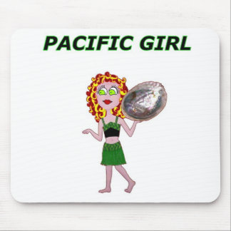 PACIFIC GIRL MOUSE PAD