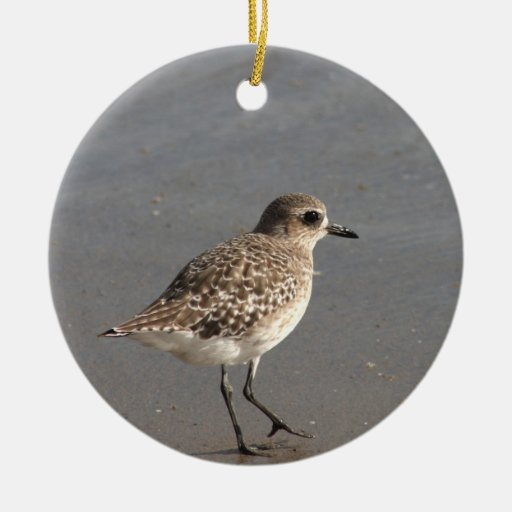 Pacific Golden Plover Christmas Ornaments