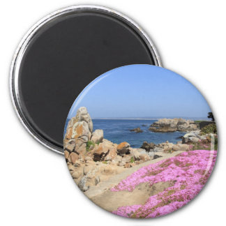 Pacific Grove 2 Inch Round Magnet