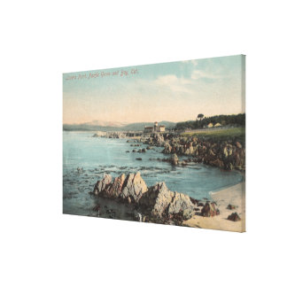 Pacific Grove, CA - Lovers Point, Pacific Canvas Print