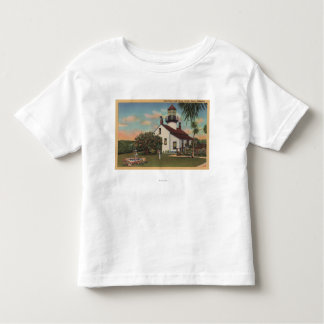 Pacific Grove, CA - Point Pinos Light House View Toddler T-shirt