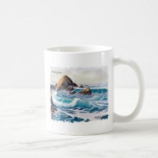 Pacific Grove Coffee Mug Basic White Mug