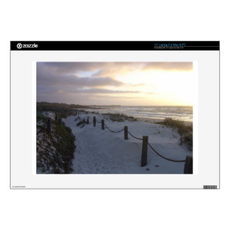 """pacific grove in California Decal For 15"""" Laptop"""