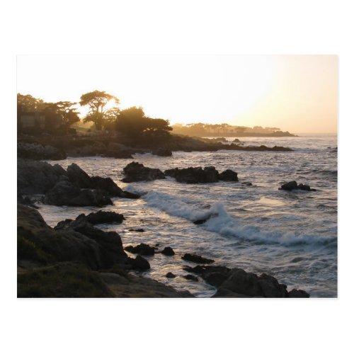 Pacific Grove Sunset Postcard