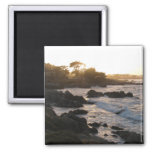 Pacific Grove Sunset Refrigerator Magnet
