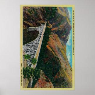 Pacific Highway Bridge over Shasta River Poster