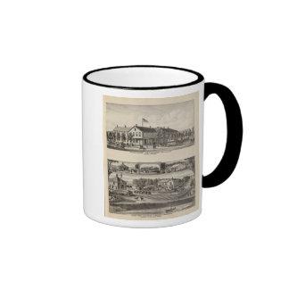 Pacific House, Salina Valley Farm, Kansas Coffee Mugs