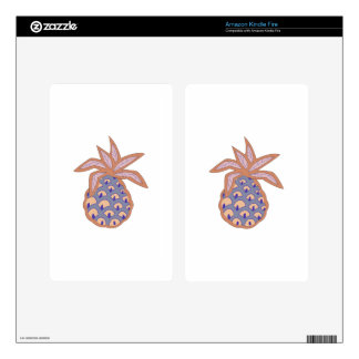 PACIFIC ISLAND PINEAPPLE DECAL FOR KINDLE FIRE