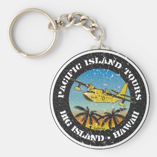 Pacific Island Tours Key Chains
