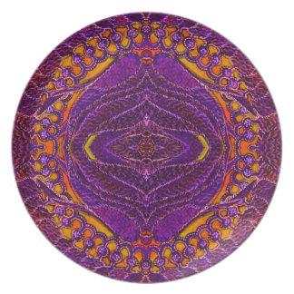 Pacific Kelp Sunset Melamine Plate