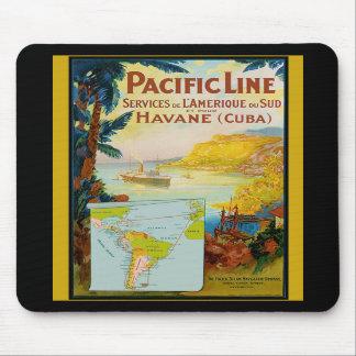 Pacific Line Vintage Travel Mousepads