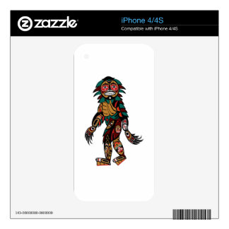 Pacific Myth iPhone 4 Skin