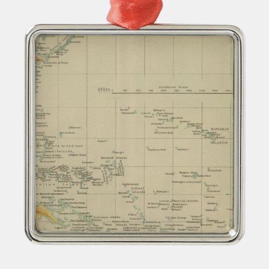 Pacific No 1 Metal Ornament