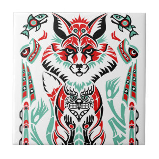 Native american ceramic tiles zazzle for Native american tile designs