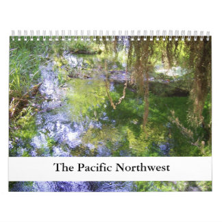 Pacific Northwest Any Year Calendar