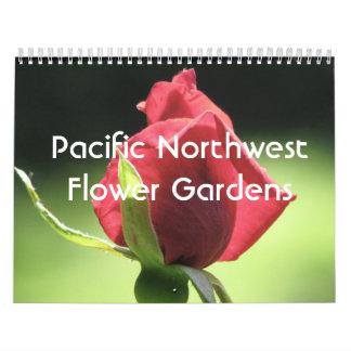 Pacific Northwest Flower Gardens Calendar