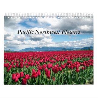 Pacific Northwest Flowers Calendar