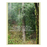 Pacific Northwest Forest Isaiah 41:10 Print