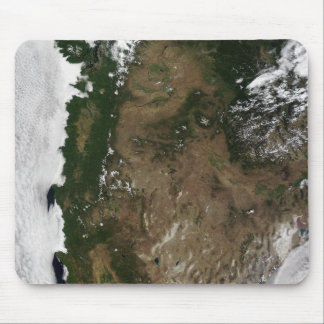 Pacific Northwest region of the United States Mouse Pad