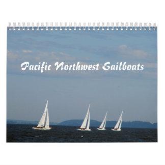 Pacific Northwest Sailboats Calendar