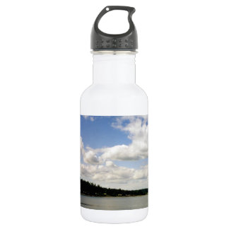Pacific Northwest Summer Sky Stainless Steel Water Bottle