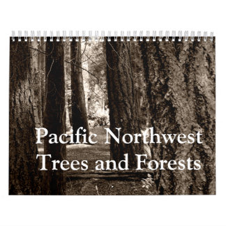Pacific Northwest Trees and Forests Calendar
