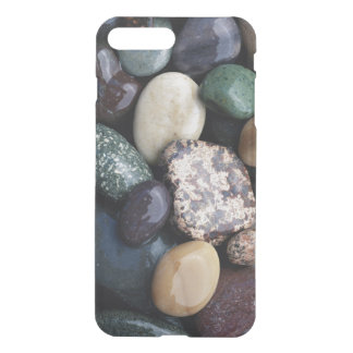 Pacific Northwest USA, Colorful river rocks iPhone 7 Plus Case