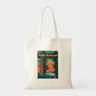 Pacific Northwest Vintage Tote Bag