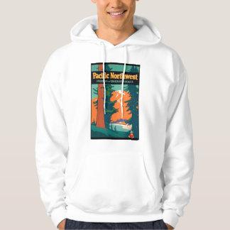 Pacific Northwest Vintage Graphic Hoodie